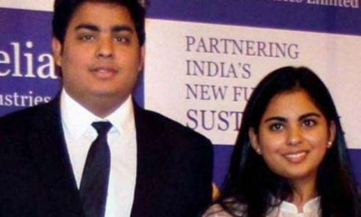 mukesh ambani s twin children made directors of reliance