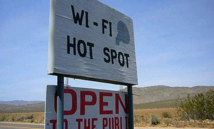wi fi hot spots in cities tourist centres may come up soon