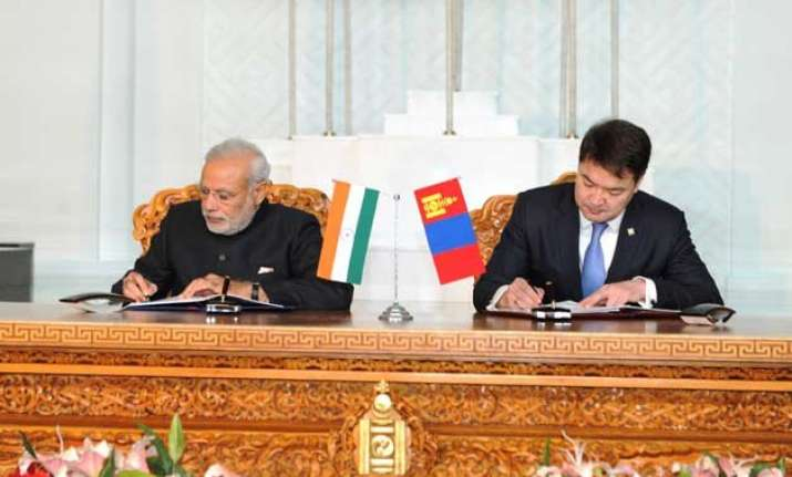 india announces usd 1 billion credit line to mongolia
