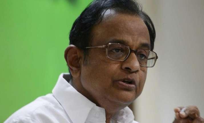zero marks to modi govt on job creation p chidambaram