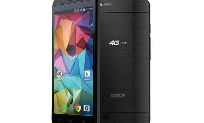 spice launches its first 4g smartphone stellar 519