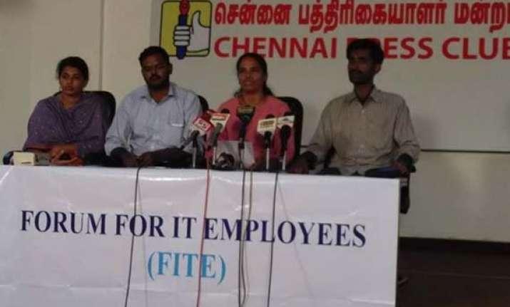 chennai based group eyes legal action against tcs sacking