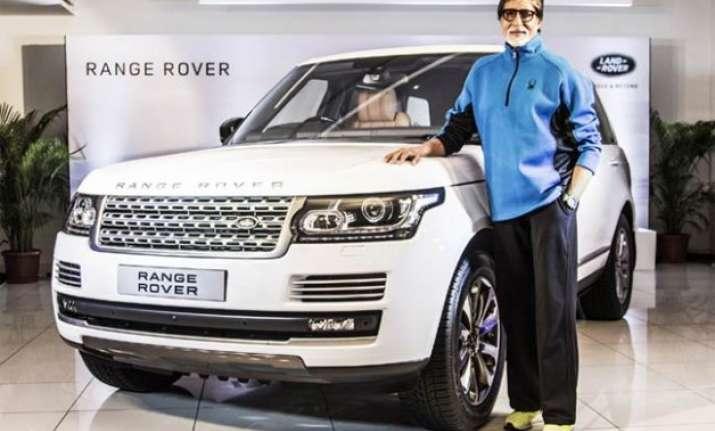 amitabh bachchan gets new land rover