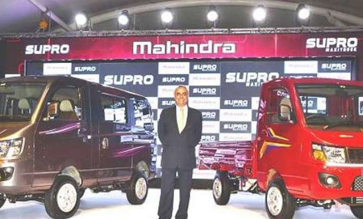 mahindra unveils two vehicles from new supro stable