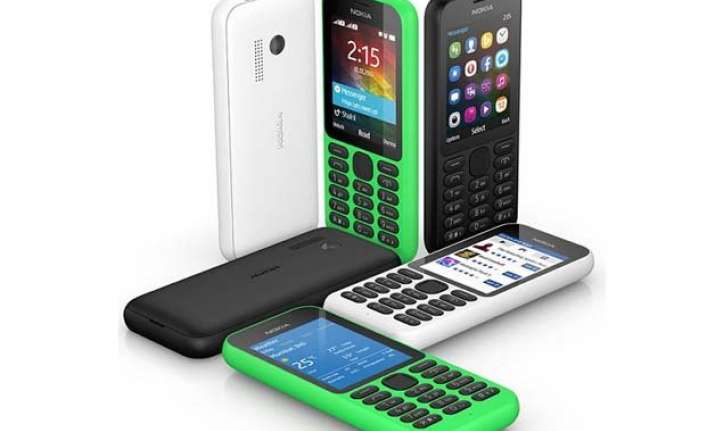 microsoft launches dual sim nokia 215 at rs 2 149