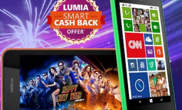 lumia 530 and lumia 630 available with cashback offers in