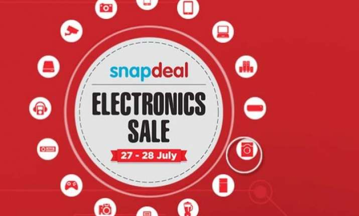 snapdeal super sale coming on july 27 and 28 avail