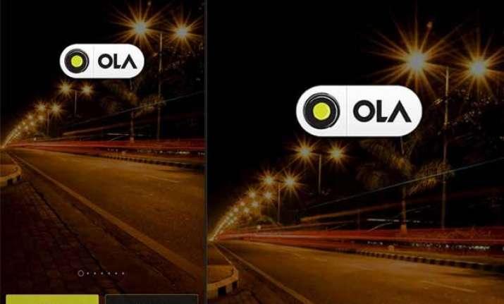 home screen image of ola s popular app stolen