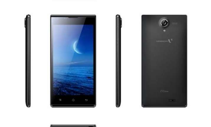 videocon infinium z50 nova launched at rs 5 999