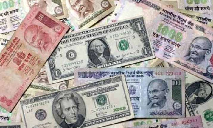 rupee drops 34 paise to one week low at 66.48 against usd
