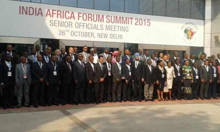 india africa forum summit kicks off in new delhi
