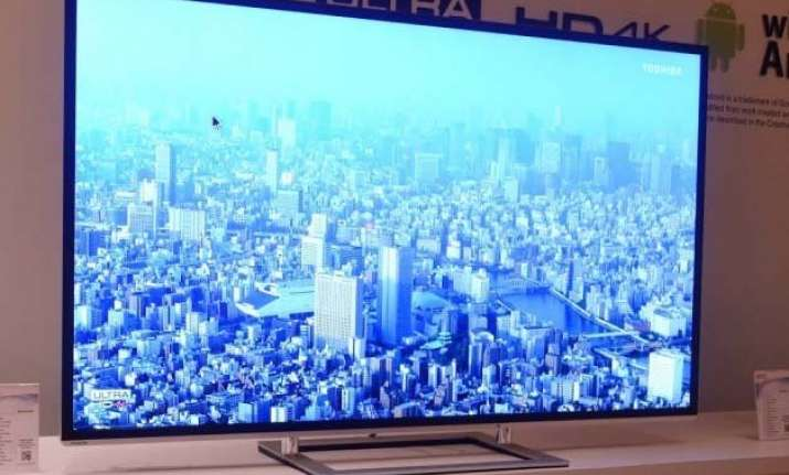 toshiba launches android powered led tvs at rs 38 990
