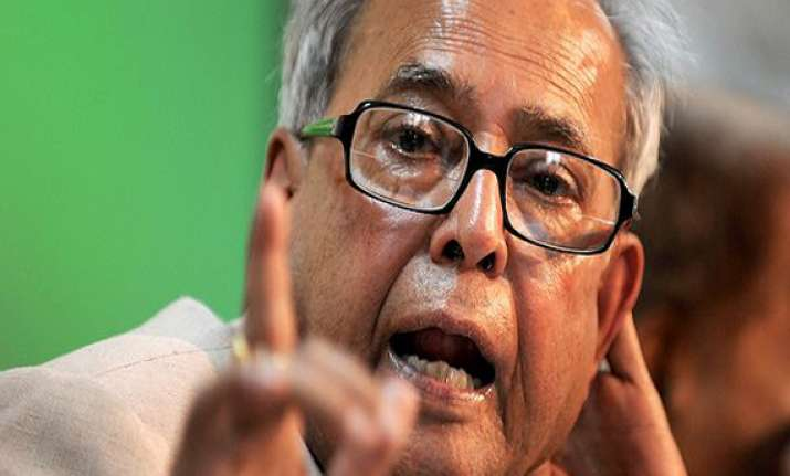 india will maintain high economic growth trajectory pranab
