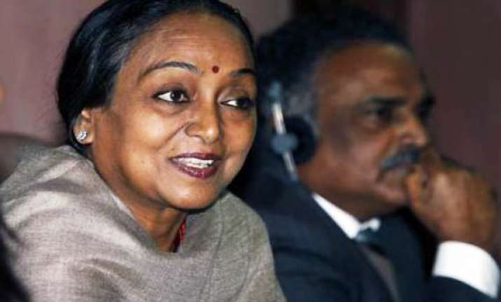 india s economy to grow 8.2 pc this fiscal meira kumar