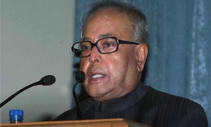india s fundamentals strong says pranab