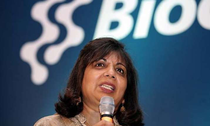 india s economic model skewed says kiran mazumdar shaw