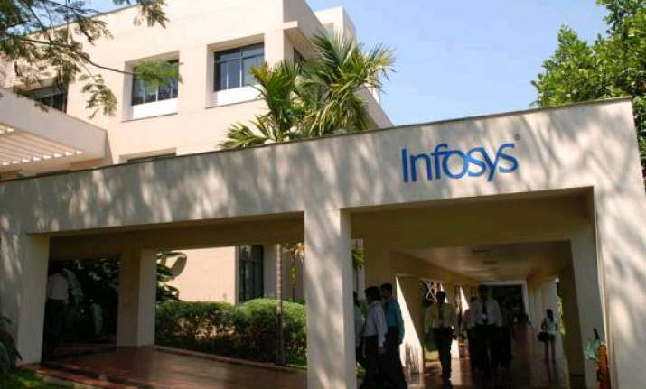 infosys shares jump 5 per cent post q4 results