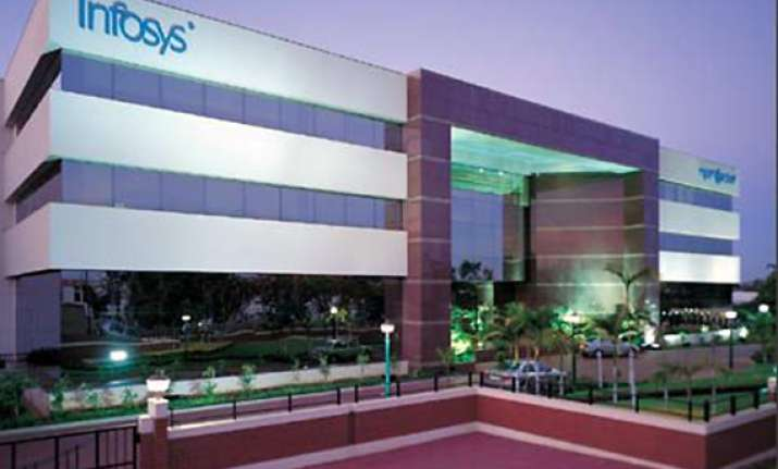 infosys q3 net up 33 pc trims revenue outlook for fy12