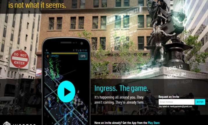 ingress the new augmneted reality game by google for