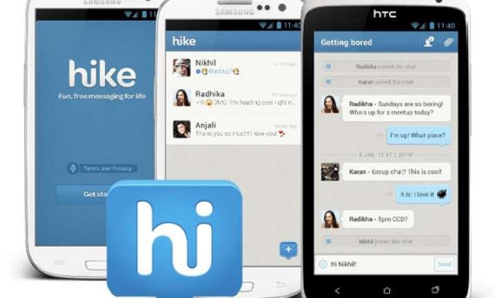 instant messenger app hike gets 65 million from tiger