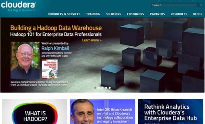 intel picks significant stake in hadoop company cloudera