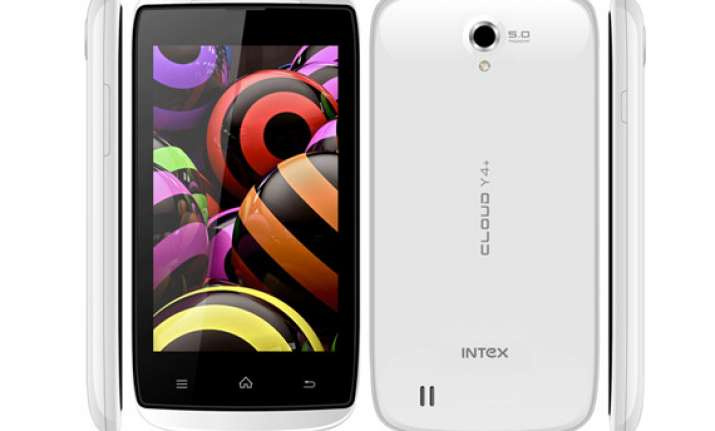 intex cloud y4 with dual core processor listed online for