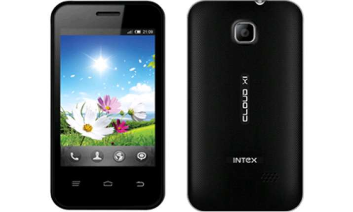 intex launches smartphone at rs 2 990