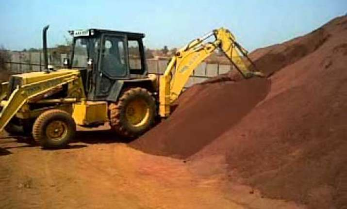 iron ore samples to be stocked for e auction in goa on