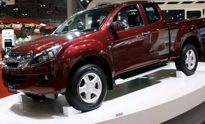 isuzu rolls out range of pick up trucks d max
