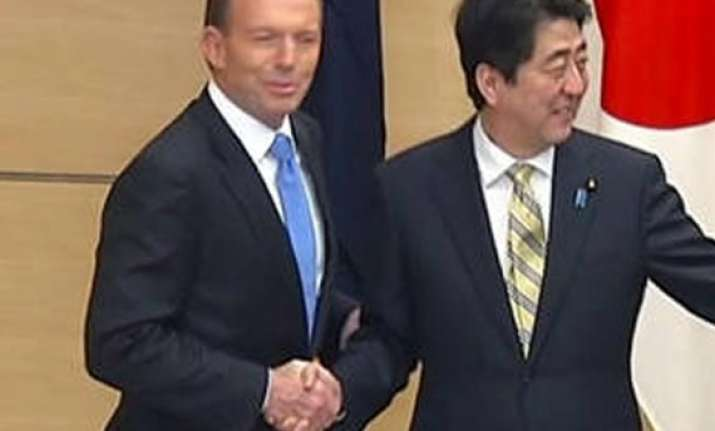 japan australia reaffirm bilateral free trade agreement