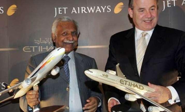 jet airways etihad airways revise stake sale deal