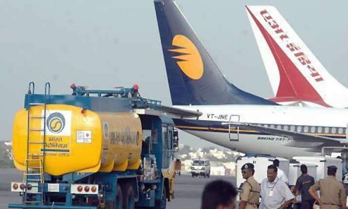 jet fuel prices slashed by over 3 per cent