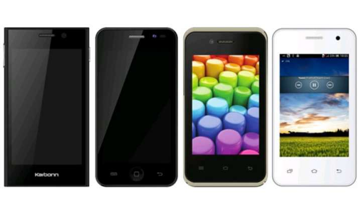 karbonn launches four new sub rs 5 000 smartphones