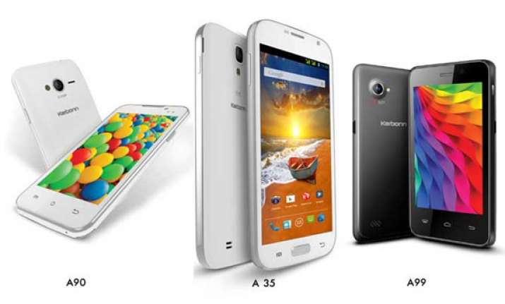 karbonn launches 4 smartphones below rs 8 000 a16 a99 a35
