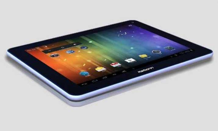 karbonn launches 9 inch tablet for rs 7 990