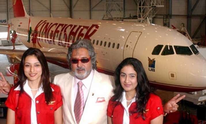 kingfisher aircraft seized over service tax dues