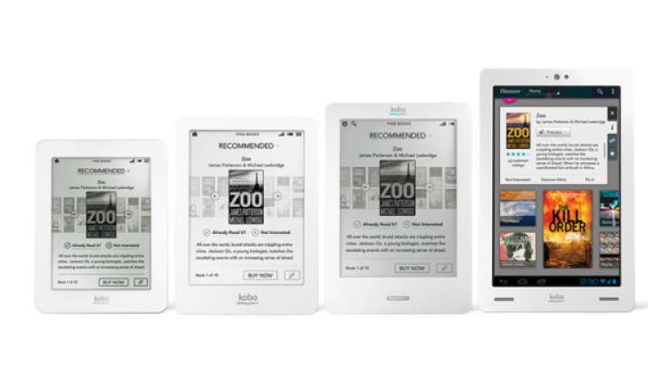 kobo launches 4 ereaders in india starting at rs 7 999