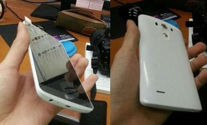 lg g3 leaks again in live images shows off ultra thin bezel