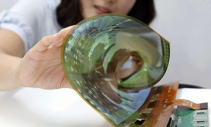 lg display unveils 18 inch flexible display