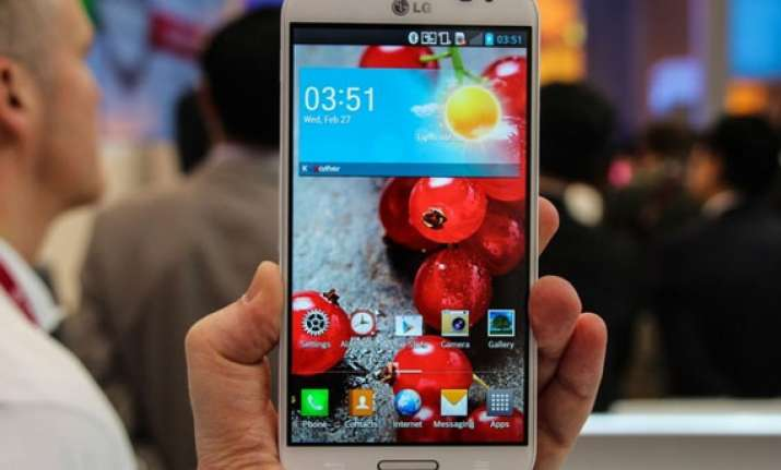 lg launches optimus g pro in india at rs 42 500