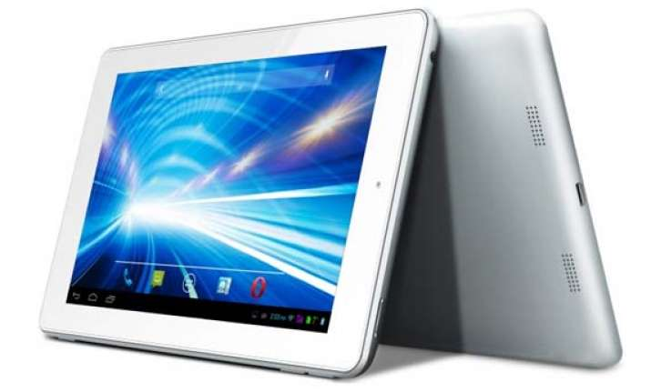 lava qpad e704 voice calling tablet launched at rs 9 999