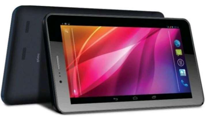 lava launches 3g calling tablet for rs. 8 499