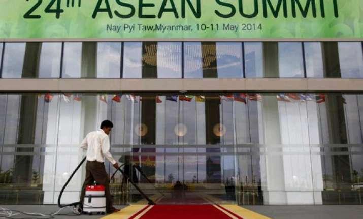 leaders arrive in myanmar for asean summit