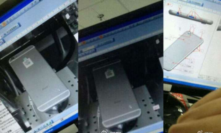 leaked iphone 6 images from foxconn reveal bigger body