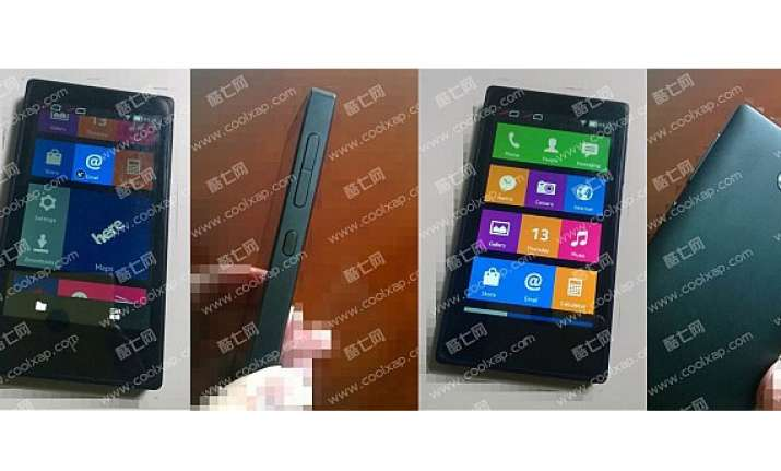leaked images show nokia x budget android smart phone and