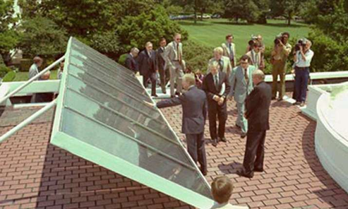 let the sun shine in on white house solar panels