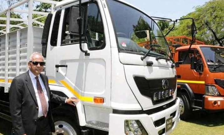 light medium duty trucks rolled out by eicher