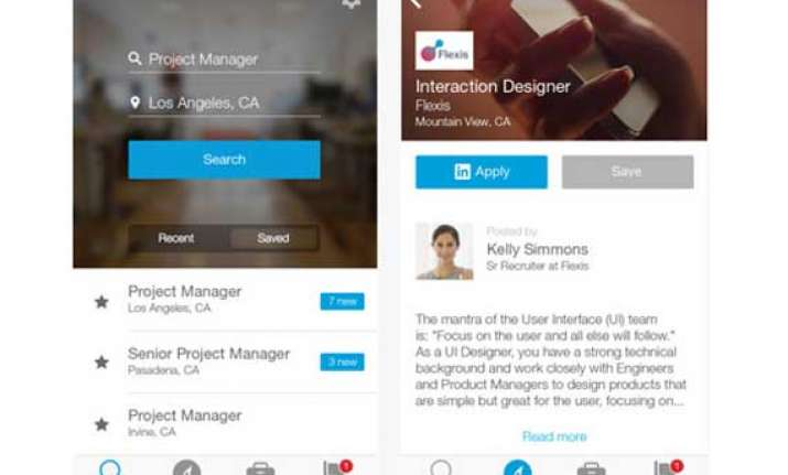 linkedin unveils new ios app dedicated to job searches