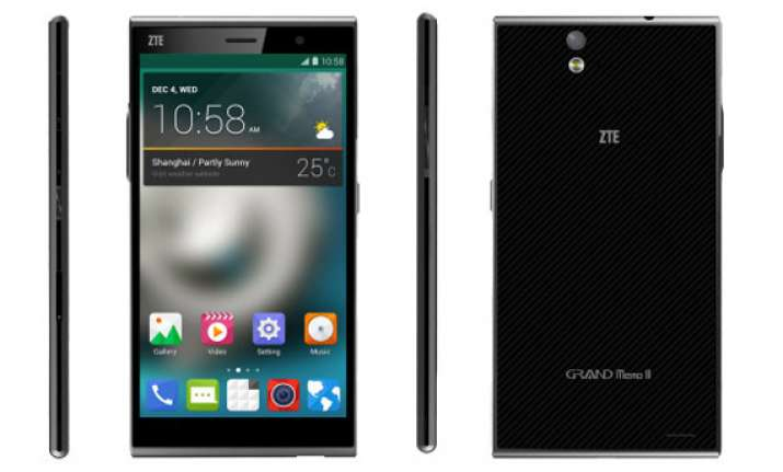 zte grand memo ii lte goes official with 720p 6 inch screen