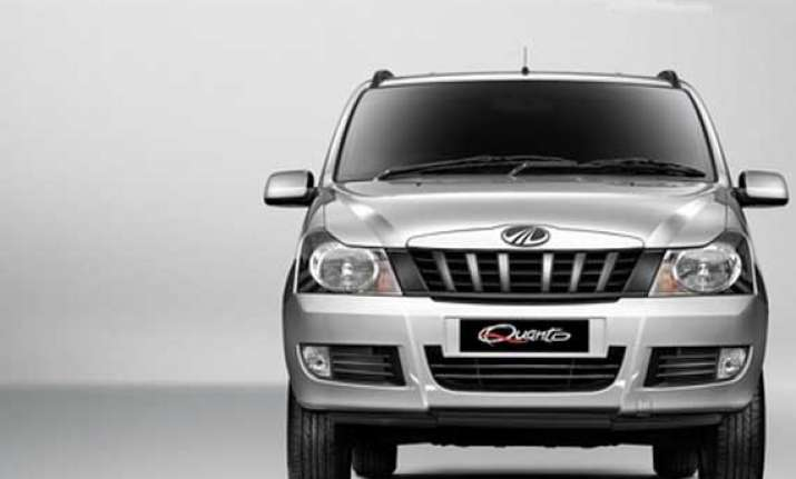 m m launches its compact suv quanto at rs 5.82 lakh